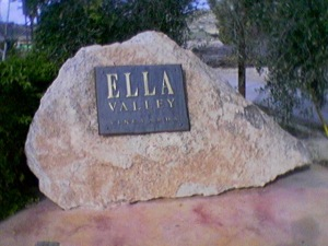 Ella Valley Winery in the Judean Hills