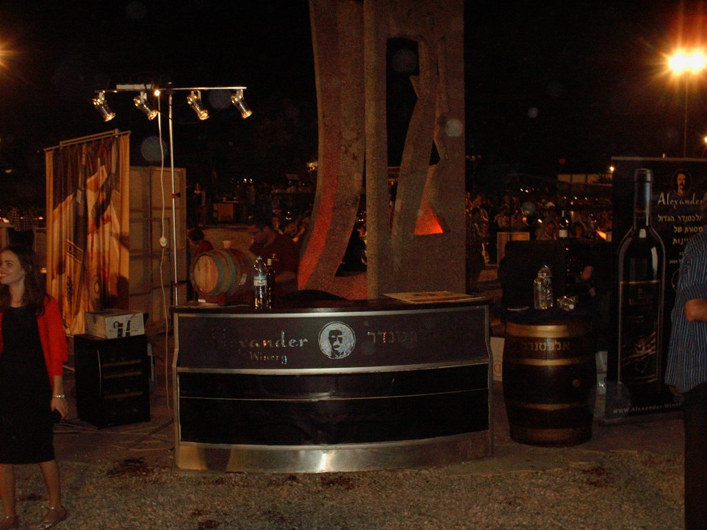 Alexander Winery's Booth