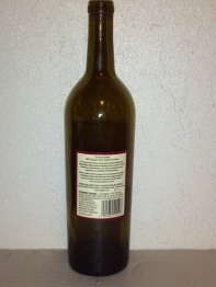 2007 Hagafen Cabernet Franc - back label