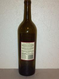 2007 Hagafen Cabernet Franc - back label
