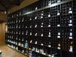 Shelves of wine in Cask LA