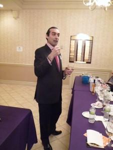 Gotham Wines Costas Mouzouras at VIP tasting