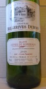 The Kosher French wine predicament and the 2010 Château BellerivesDubois