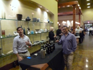 2012 IFWF in Oxnard picture of the Portugal and Argentina wines 3