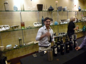 2012 IFWF in Oxnard picture of the Portugal and Argentina wines