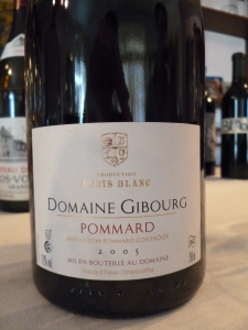 Domaine Gibourg, Louis Blanc, Pommard, Cow jumped over the Moon