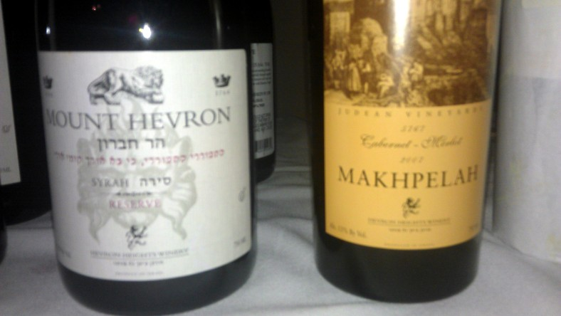 2004 Hevron Winery Syrah, Reserve and 2007 Hevron Winery Makhpelah