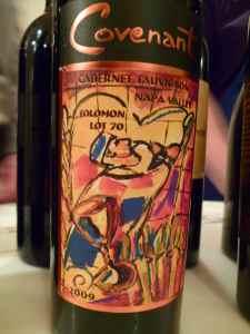 2009 Covenant Cabernet Sauvignon, Solomon Lot 70
