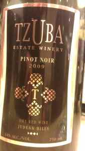 2009 Tzuba Pinot Noir-small