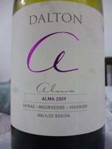 2009 Dalton Shiraz/Mourvedre/Viognier, Alma