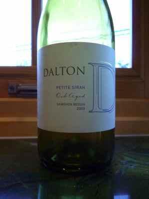 2009 Dalton Petite Sirah-small