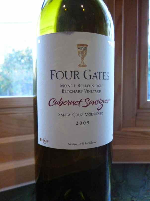 2009 Four Gates Cabernet Sauvignon, Monte Bello Ridge, Betchart Vineyard-small