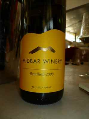 2009 Midbar Semillon-small