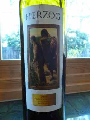 2010 Herzog Petite Sirah, Prince Vineyard, Clarksburg-small
