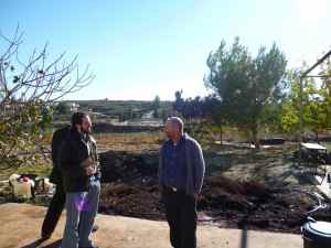 Doron Bennet and Hillel Manne the winemaker of Beit El Winery-small
