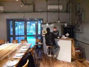 Gush Etzion tasting room and tasting bar