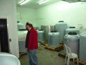 Midbar Winery and the conatiner farm-small