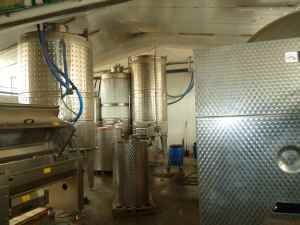 Midbar Winery and the wine tanks-small