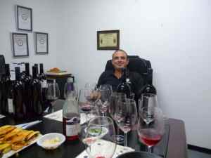 Olivier Fratty, 17 bottles, and a platter of Fricassee sandwiches-small