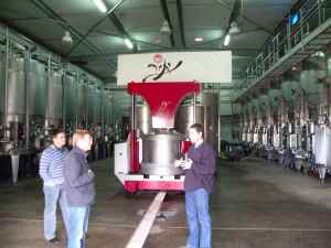 Yatir Winery's high tech wine tank farm-small