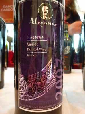 2007 Alexander Merlot, Reserve_