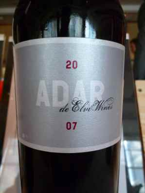 2007 Elvi WInes Adar Red_