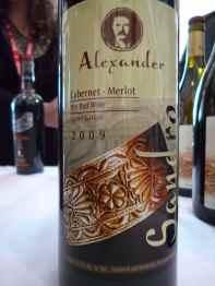 2009 Alexander Cabernet Sauvignon_Merlot_