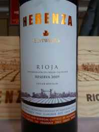 2009 Elvi Wines Herenza, Reserva_