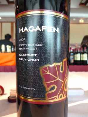 2009 Hagafen Cabernet Sauvignon, Napa Valley_