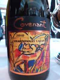2010 Covenant Lavan, Chardonnay_