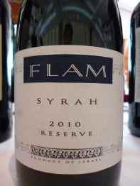 2010 Flam Syrah, Reserve_