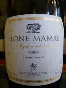 2010 Hevron Heights Elone Mamre Chardonnay_
