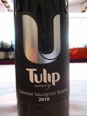 2010 Tulip Cabernet Sauvignon, reserve_
