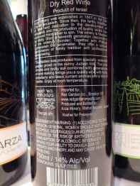 2010 Arza Malbec - back label-
