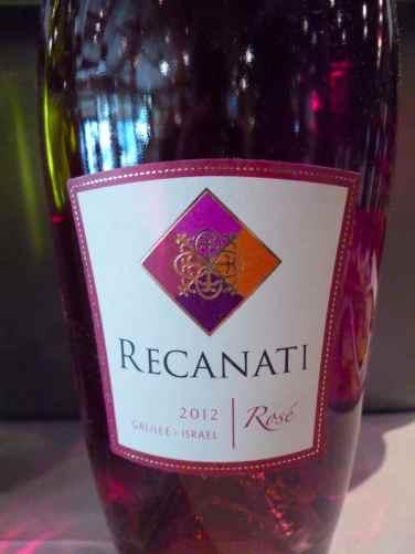2012 Recanati Rose-