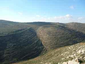 Mountains surrounding Gvaot Winery 2