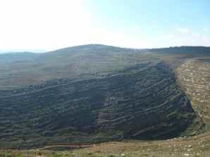 Mountains surrounding Gvaot Winery 3