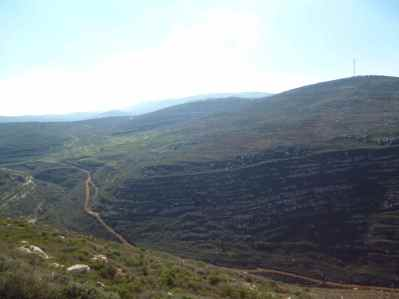 Mountains surrounding Gvaot Winery 4