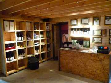 Tura Winery wine shop