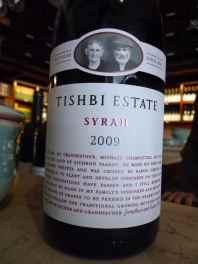 2009 Tishbi Syrah, Tishbi Estate