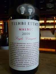 2009 Tishbi Winery Malbec, Tishbi Estate, Single Vineyard