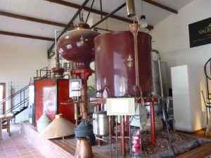 Tishbi Winery Still for Brandy