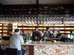 Tishbi Winery Tasting Bar
