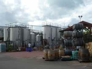 Tishbi Winery Wine Tanks