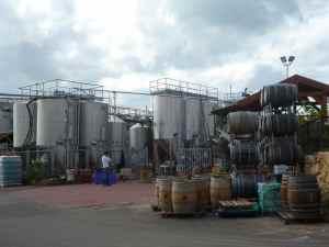 Tishbi Winery Wine Tanks