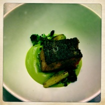 Waygu Short Rib, Broccoli Stem, Broccoli, Puree, Charred Broccoli Florets