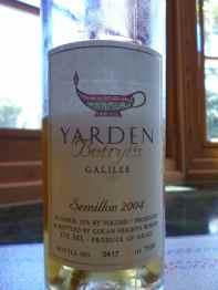 2004 Yarden Noble Botrytis Semillon