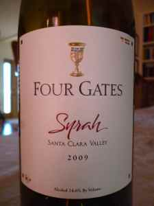 2009 Four Gates Syrah