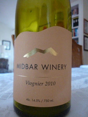 2010 Midbar Viognier