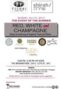 Red, White, And Champagne event from River Wine
